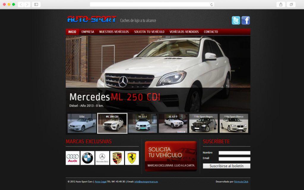 Home de Auto Sport Cars