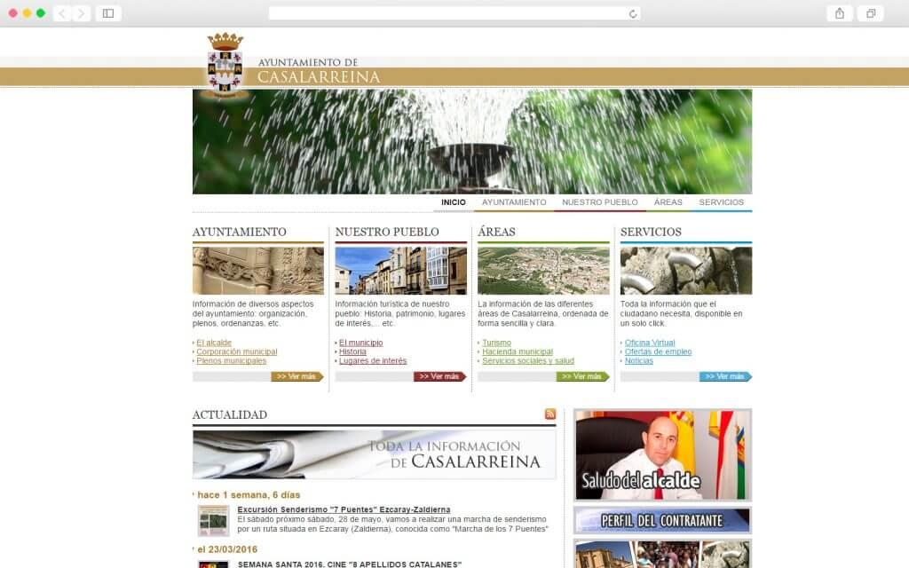 Portal Web del Ayuntamiento de Casalarreina