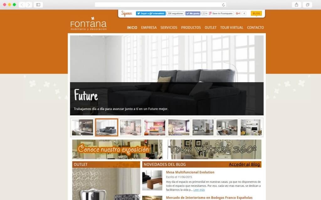 Portal Web de Fontana Mobiliario