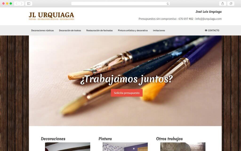 Home page de José Luis Urquiaga