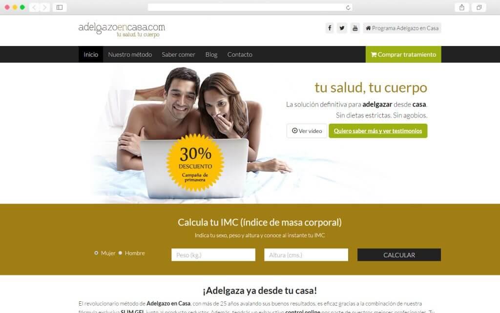 Comercio online Adelgazo en Casa