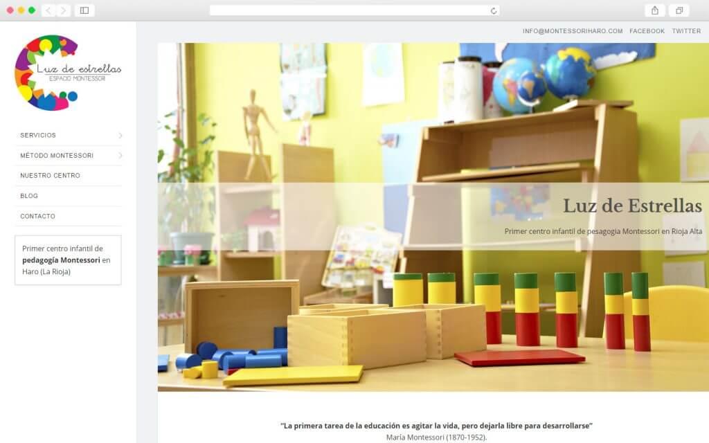 Desarrollo Web para Montessori Haro